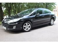 58 Reg Peugeot 407 1.6 HDI Diesel Bluetooth Newer Shape p/ex swap