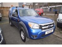 FORD RANGER XL 4X4 DOUBLE CAB 2.5 – 11-REG