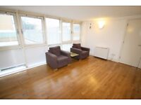 Large 2 bed furnished flat in Wapping, E1W. Separate kitchen, large living room, walk to 3 stations
