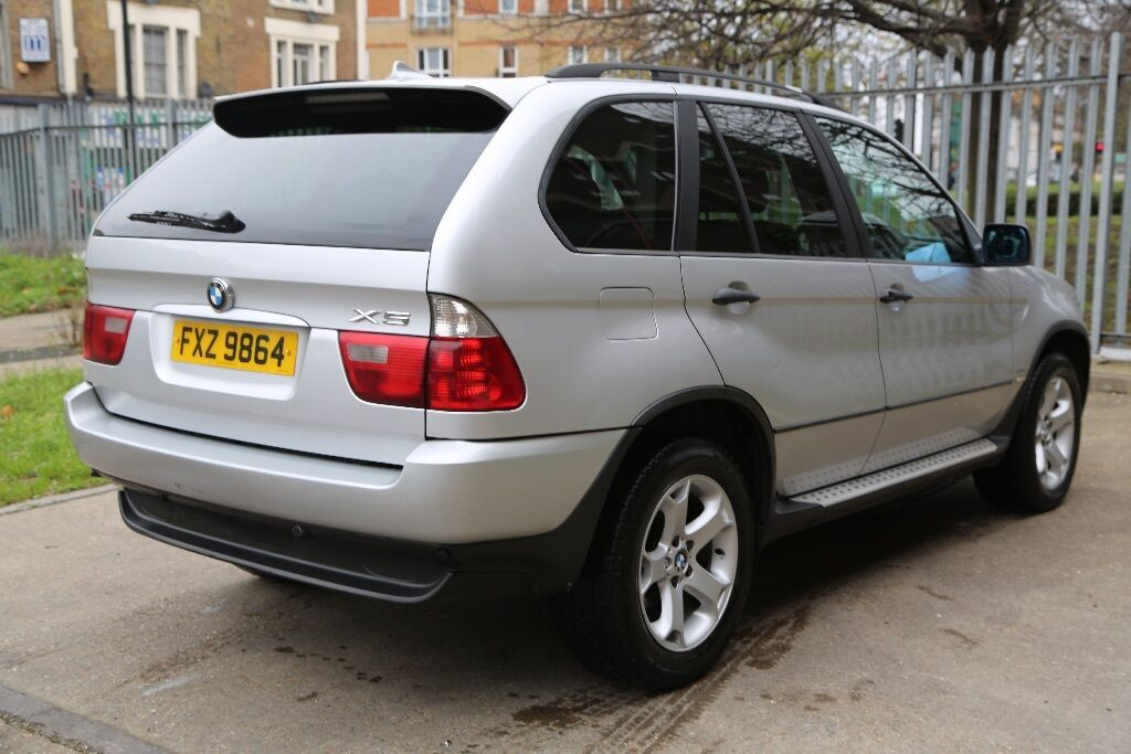 2005 bmw x5 se sport 3 0 diesel 5 door 4x4 silver automatic in brixton london gumtree. Black Bedroom Furniture Sets. Home Design Ideas