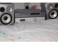 NAD CD PLAYER/ACOUSTIC SP101 AMP 150W CAN BE SEEN WORKING