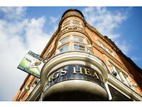 Full Time Bar Staff/ Waitress - Up to £8.00 per hour - Nag's Head - Covent Garden, London