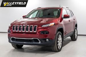 2014 Jeep Cherokee Limited 4 roues motrices, toit ouvrant!
