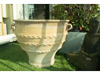 Terracotta Cretan Hand-Crafted Pot / Planter from Pots & Pithoi