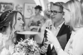 Documentary wedding photographer.