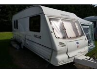 Baily pageant Auvergne 5 berth caravan 2001