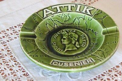 ATTIK CUSENIER PORTACENERE D'EPOCA IN CERAMICA DA COLLEZIONE - VINTAGE ASHTRAY