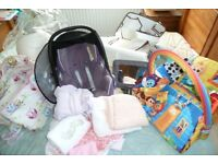 Car Seat and Other Baby Items