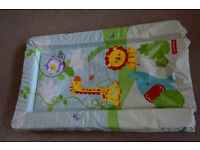 fisher price changing mat