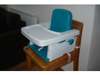 Travel high Chair and baby bath