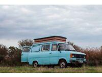 Ford Transit Mk2 Campervan. Pop-top. Restoration Project. Low Mileage. Good Runner.