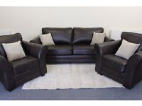 Brand New!! Three Seater Sofa and Two Chairs