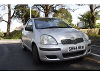 Toyota Yaris 2004 with 12 month MOT no recommendation. 75000 miles 1.0 litre engine