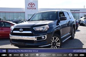2015 Toyota 4Runner LTD only 23kms inc 7 year warranty ECP