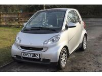 SMART FORTWO PASSION AUTO COUPE - LOW MILEAGE - VERY TIDY.