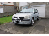 2004 Renault Clio Expression - 71,000 Miles - Needs attention for MOT and cosmetic tidying
