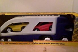 Little tikes lorry and cars