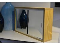 Bathroom Cabinet - Mirrored doors - Shelf - Ready to hang! £5