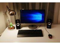 Gaming computer - 8GB RAM - Nvidia GeForce GTX 1060 3GB - 128GB SSD - 1TB HD