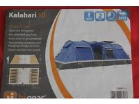 HiGear Kalahari 10 Elite Family Tent ( Bundle Deal - tent, footprint, carpet and porch )
