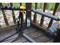 Halfords rear low mount cycle carrier (2 bikes max. 30kg)