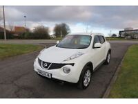 NISSAN JUKE 1.5 ACENTA PREMIUM DCi,2012,Alloys,Air Con,Cruise,Reverse Cam,Full Service History,Clean