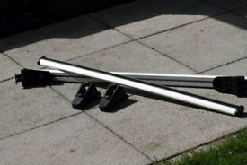 G3 Aluminium Roof Bars to fit Mazda 6 Estate 08 onwards with Raised Roof Rails