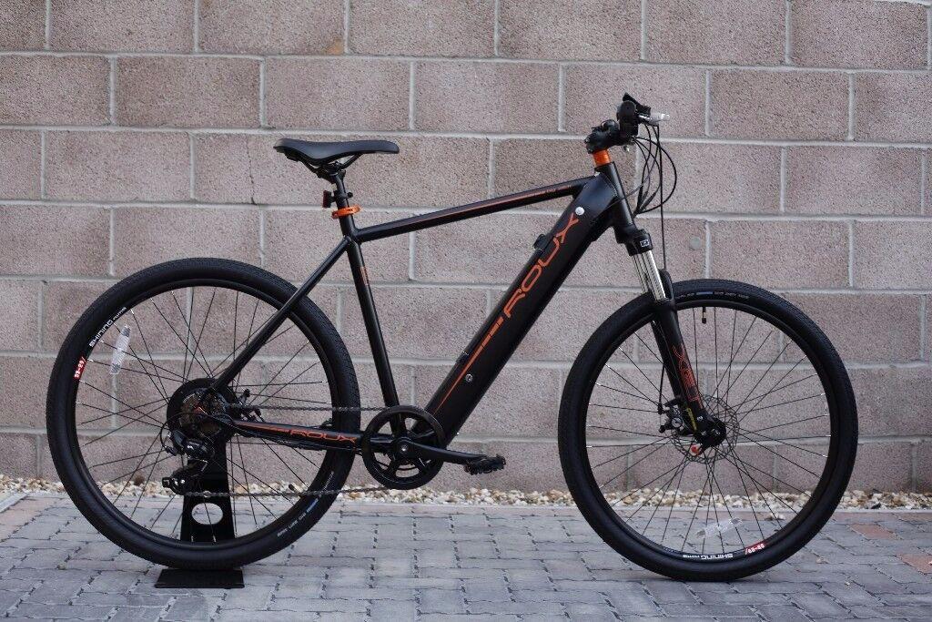 "Roux Big Slick Electric Bike 19"" or 21"" Frame Size at Renovatio Bikes*NEW*"