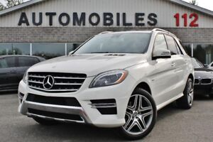 2013 Mercedes-Benz M-Class ML 350 Bluetec / Bas kilo