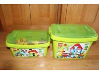 LEGO® DUPLO® Deluxe Brick Box (5507) and Duplo Large Box (5506)