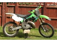 Kawasaki Kx 250 2t motocross, enduro, same as ktm yz rm cr.