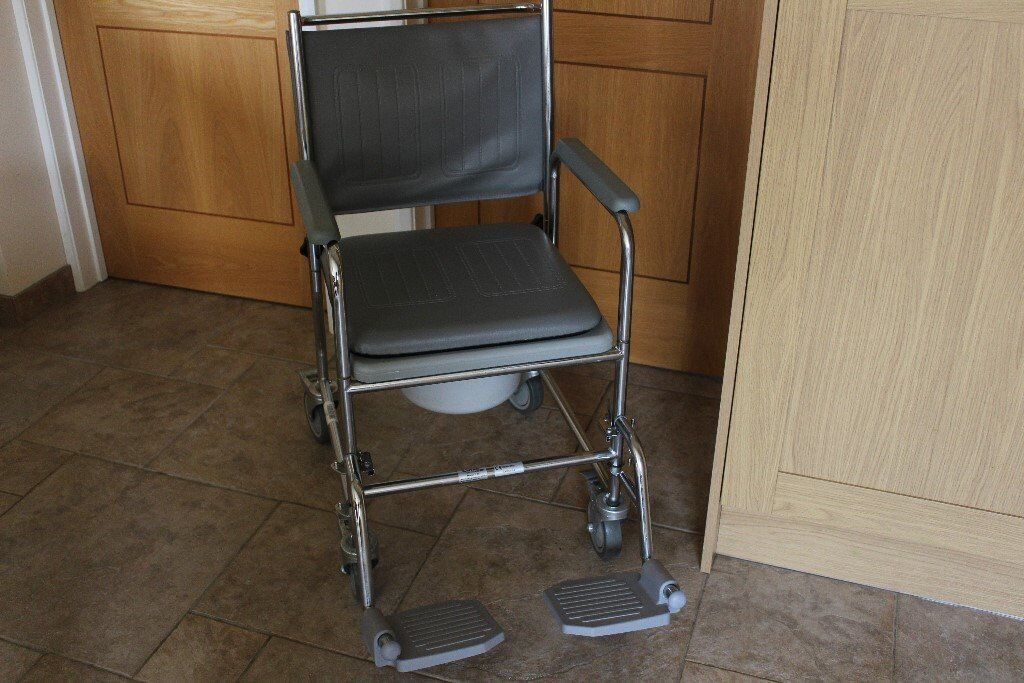 Commode Wheeled Wheelchair