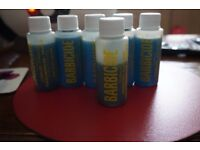 6 bottles of Barbicide undiluted