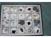Collection Mineral Rocks and Stones
