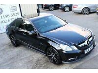 2011 MERCEDES E250 CDI BLUEEFF SPORT AUTO 204 BHP *NIGHT EDITION SPEC* (FINANCE & WARRANTY)