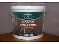 Johnstone's One Coat Shed & Fence Paint 20Litres