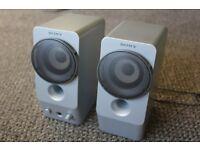 Retro 2.0 Sony Speakers