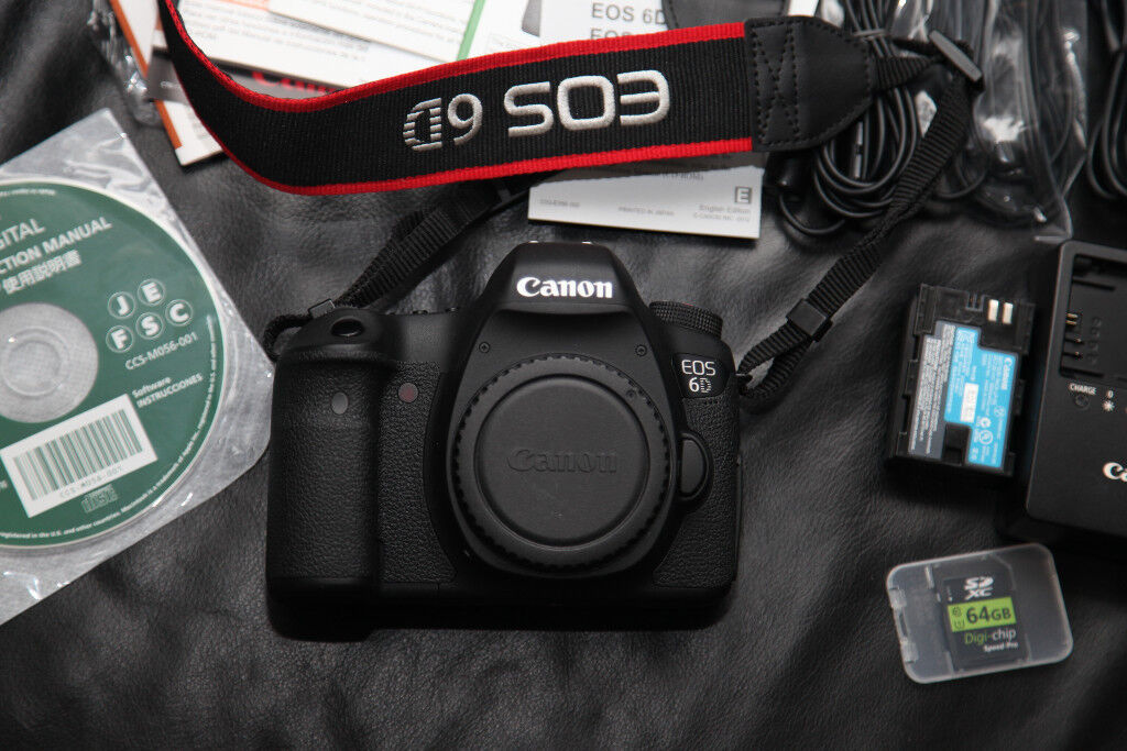 Canon EOS 6D Full Frame Digital Camera with Wi-Fi | in Notting Hill ...