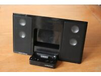 Altec Lansing inMotion iPod iPhone 4 4S Sound Dock speakers + remote control