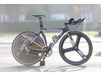Quintana Roo triathlon bike bicycle Full Carbon (size S / 51cm) -Road Bike, Track Bike, Race Bike