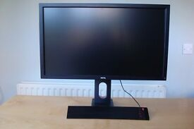 "BenQ XL2420T 24"" 3D 120Hz Gaming Monitor RRP £350 IMMACULATE Condition"