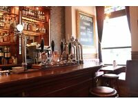 BAR/WAITING STAFF REQUIRED (FULL-TIME AND PART-TIME) FOR BUSY CITY CENTRE BAR