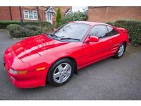 Stunning red Toyota mr2 mk 2 rev 3 turbo 2.0L more than 255bhp and dyno print out