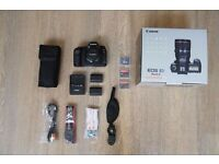Canon 5D Mkii full kit (2 lenses + flash) and accessories