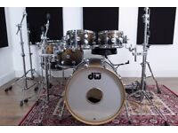 DW Collector's Maple Exotic Drum Kit