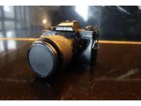 Minolta X-300s film camera/ SLR- vintage