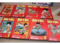 Dragonball Manga Set 2-9