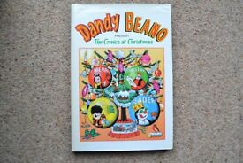 4 SPECIAL EDITION VINTAGE DANDY AND BEANO BOOKS FROM 1980s/1990s EXCELLENT CONDITION