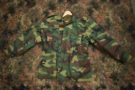 Rothco Woodland Camouflage M65 Field Jacket + Detachable liner + Hood