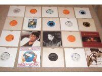 "20 x 7"" Michael Jackson Vinyl Records Collection 70's - 90's CLASSICS!! RARE!!"